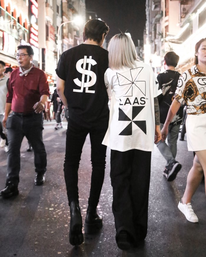 STREET STYLE - LAAS T-SHIRT