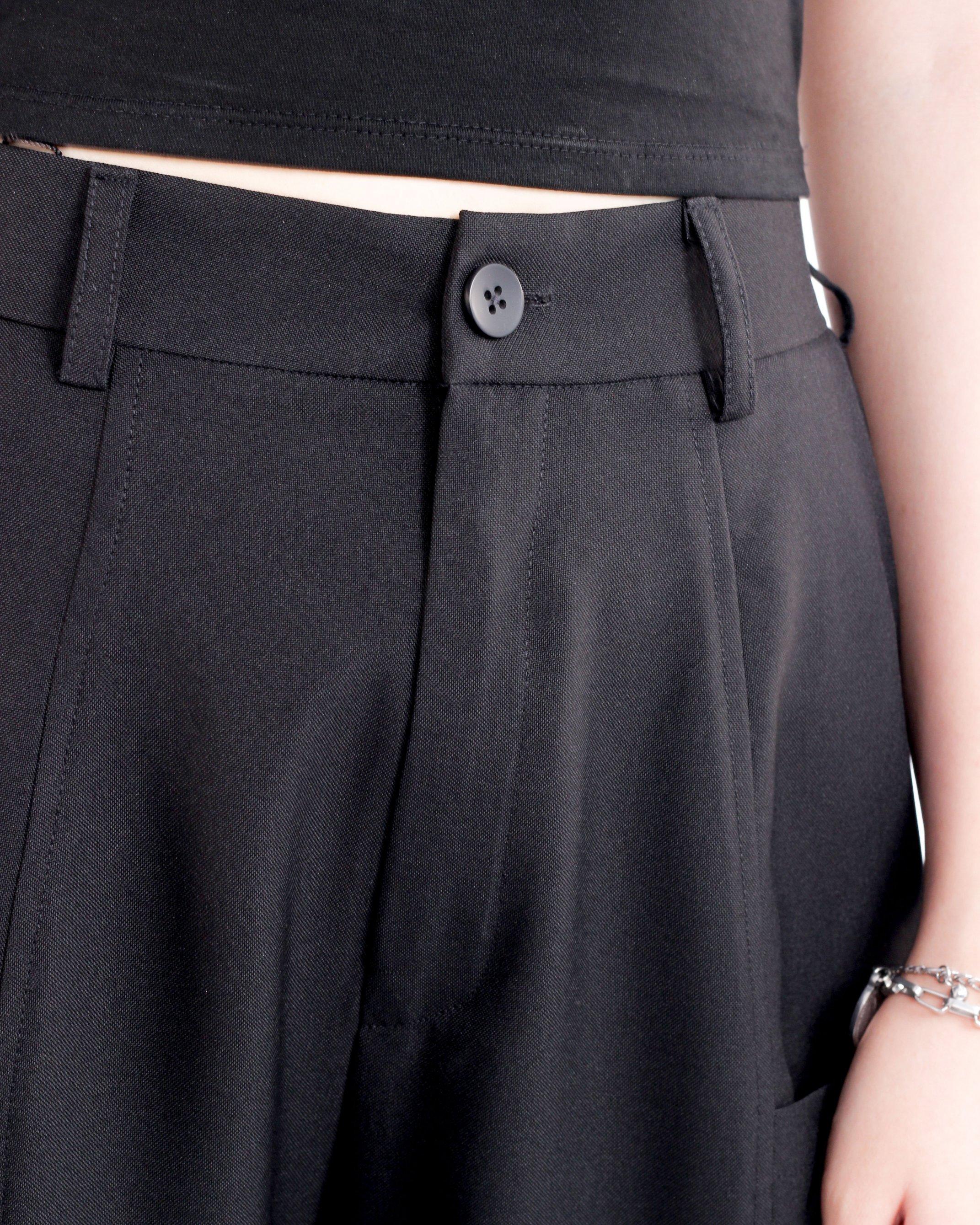 ENVELOPE PANTS BLACK